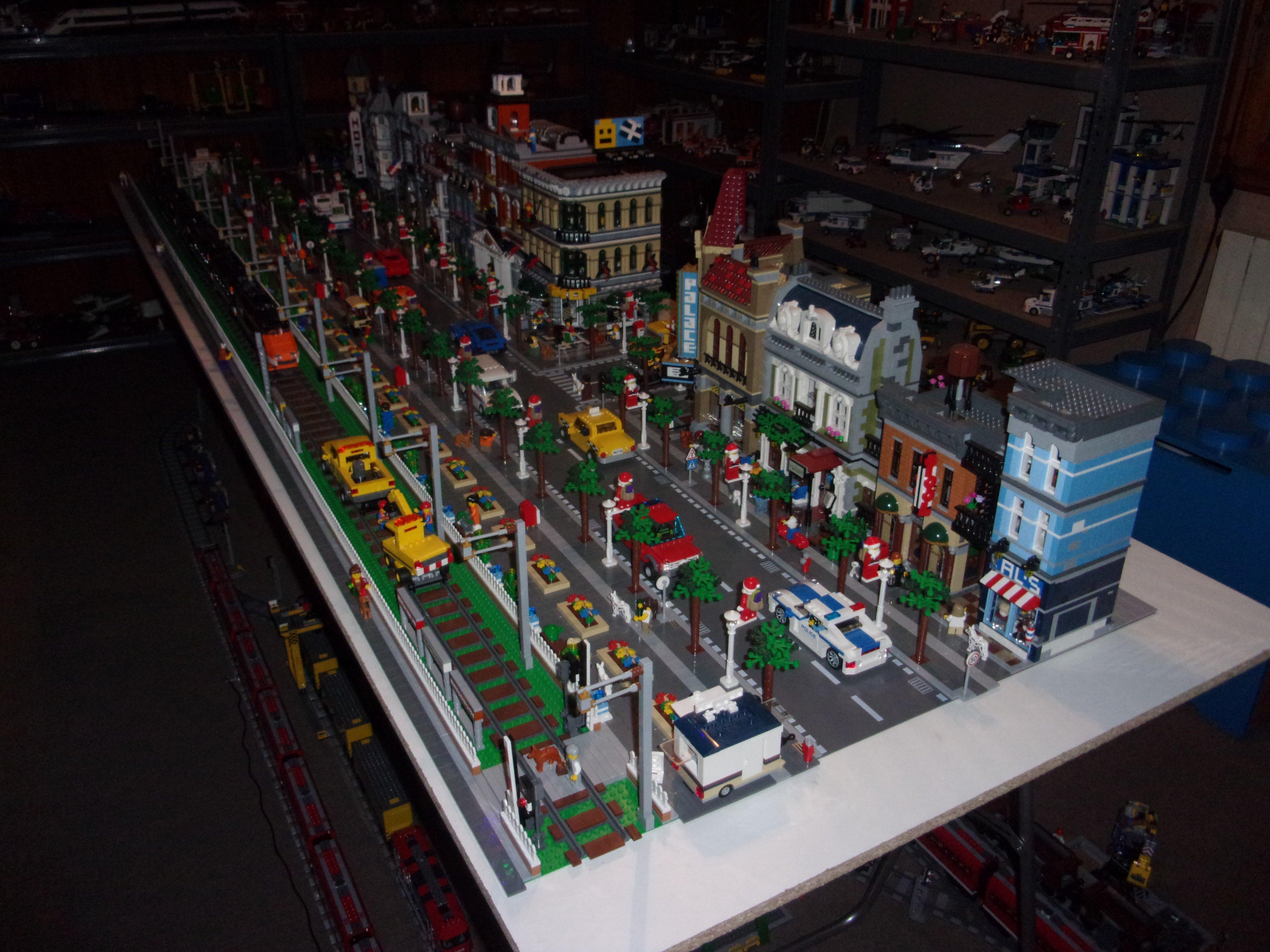 Creator expert modular buildings et creator expert for Construire une maison en lego